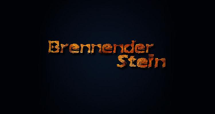 BRENNENDER STEIN