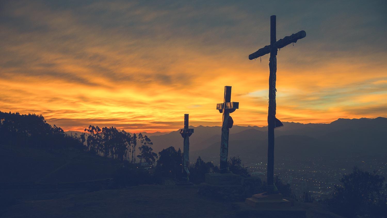 Crosses over Cuzco