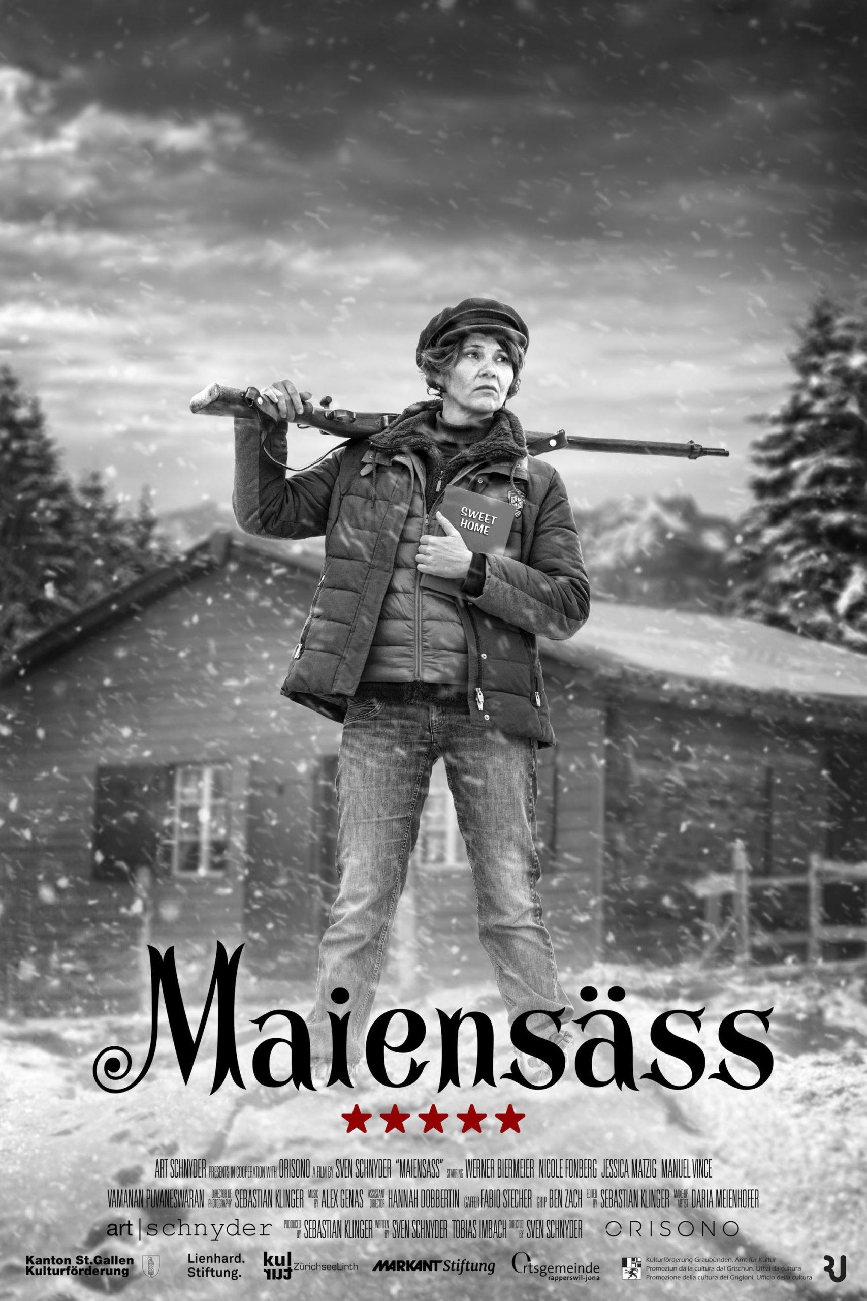 Maiensäss Poster | Sebastian Klinger